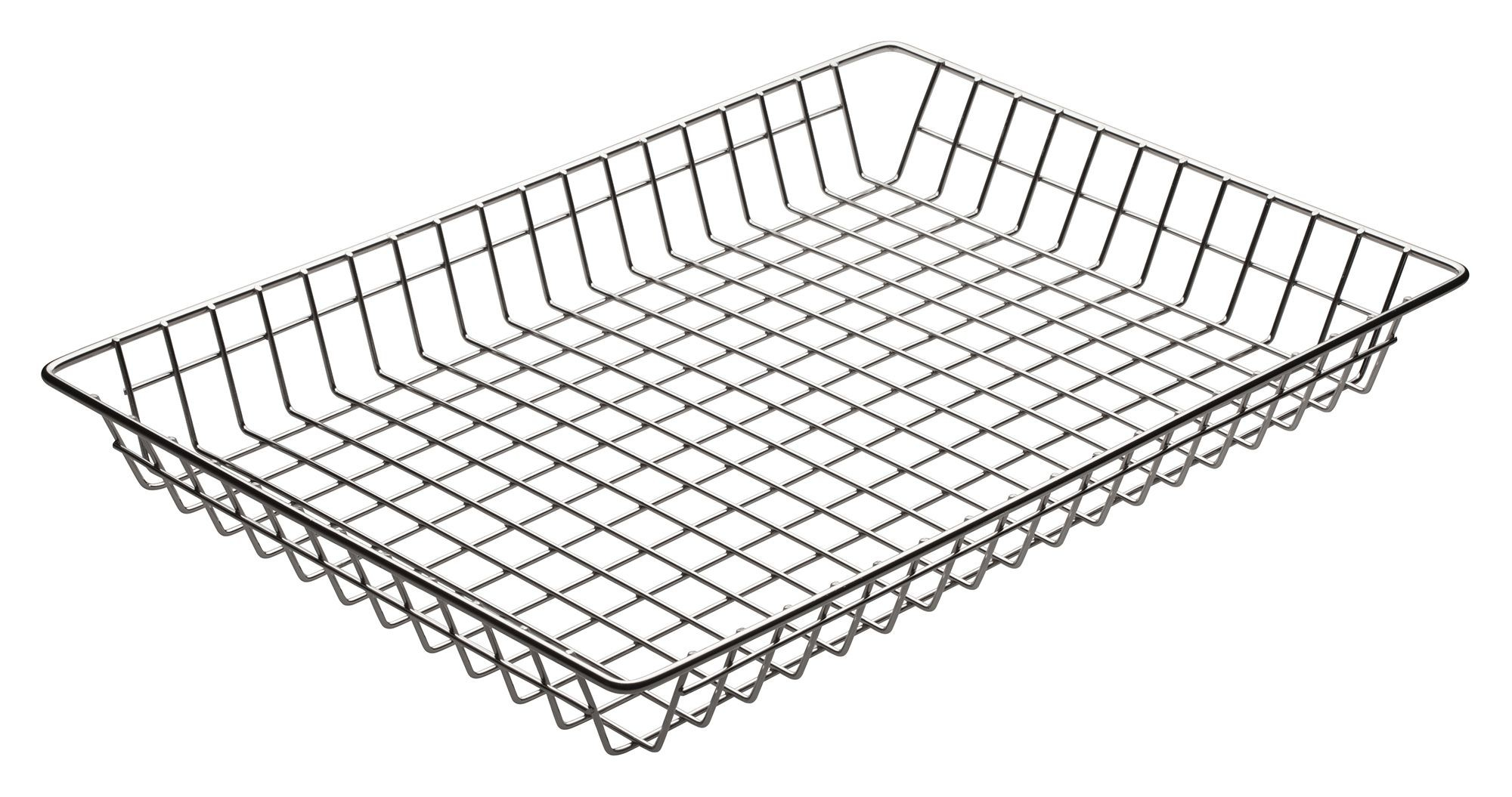 "Winco DB-1218 Wire Doughnut Basket, 12"" x 18"" x 2"""