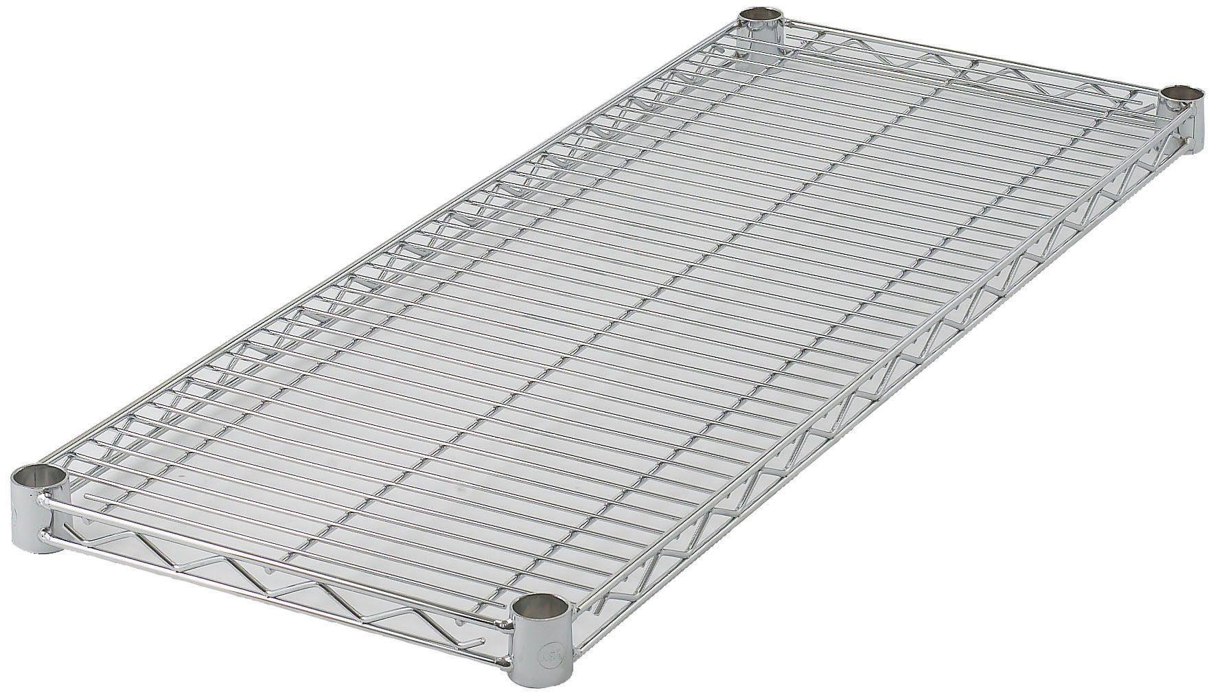 "Winco VC-1430 Chrome-Plated Wire Shelf 14"" x 30"""