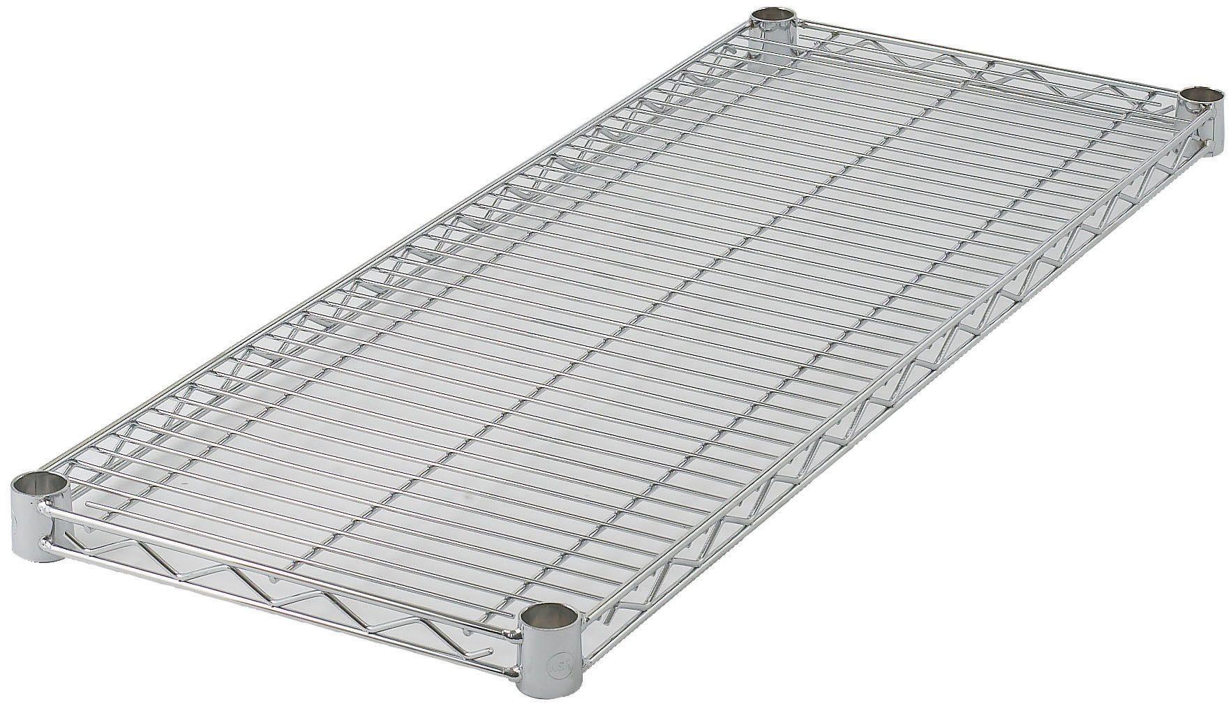 "Winco VC-1824 Chrome-Plated Wire Shelf 18"" x 24"""