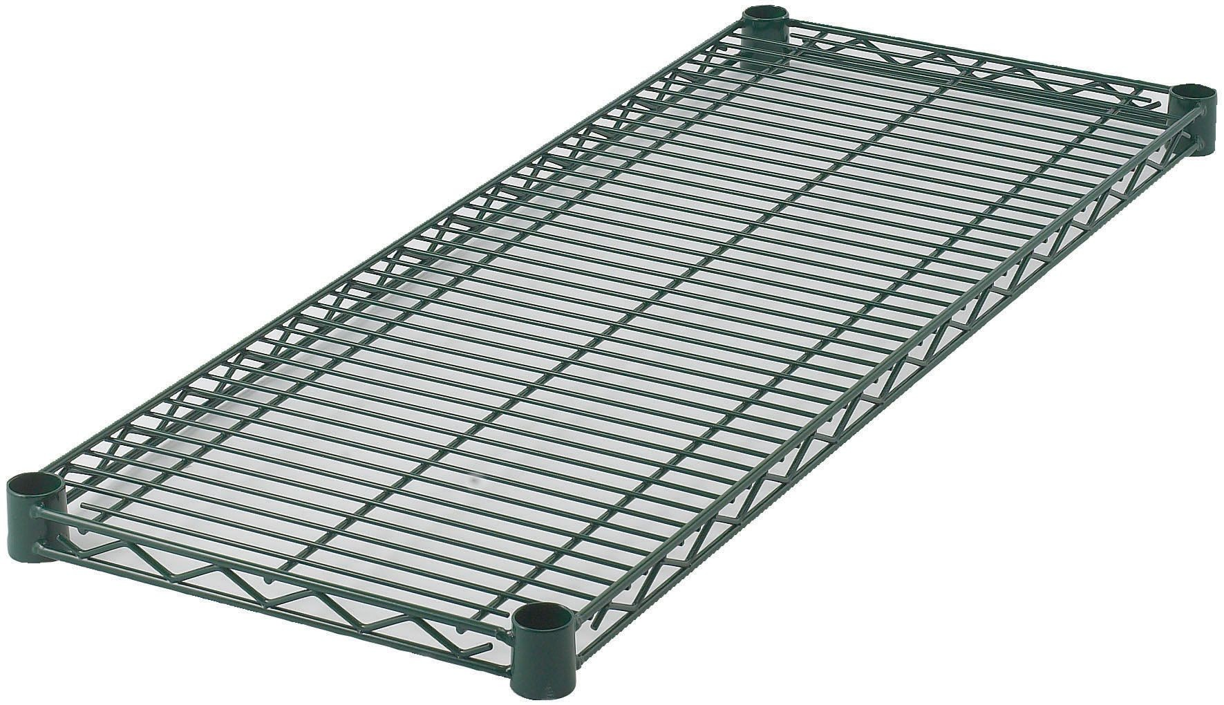 "Wire Shelf, Epoxy-Coated (14\ x 24"")"""