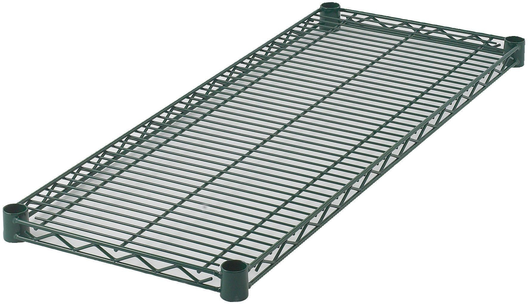 "Wire Shelf, Epoxy-Coated (14\ x 36"")"""