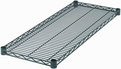 "Wire Shelf, Epoxy-Coated (14\ x 72"")"""