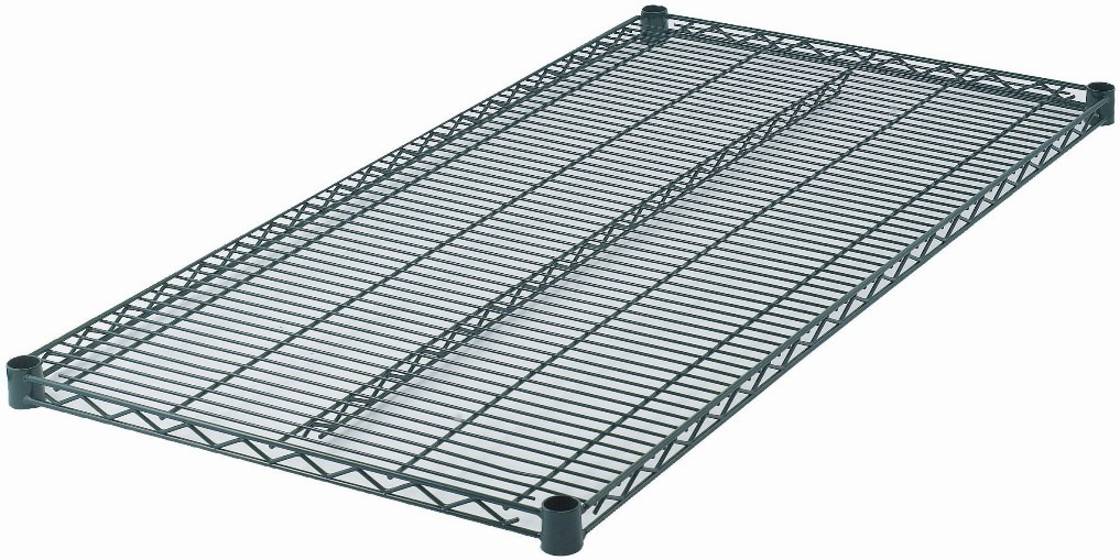 "Wire Shelf, Epoxy-Coated (24\ x 48"")"""