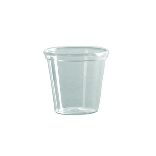 Plastic Portion/Shot Glass, 1 oz, 2500/Pack