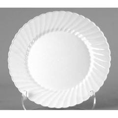 Wna Comet White Classicware Hard Plastic 6