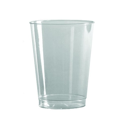 Wna Inc. 9 oz Clear Rigid Plastic Short Tumbler (Box of 500)