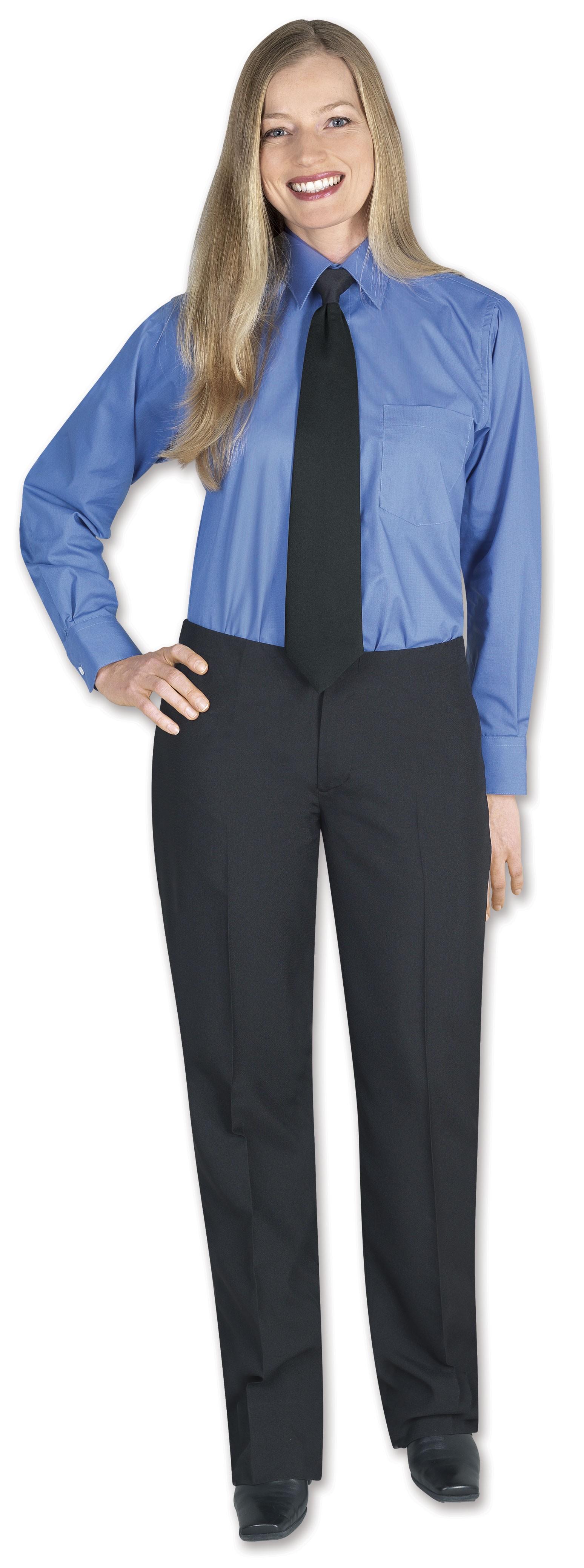 Henry Segal 4400 Women's Black Basic Black Dress Pants