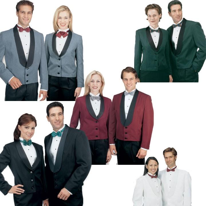 84b3d6ea8ea Henry Segal 7200 Women s Black Eton Jacket with Cloth Shawl Lapel