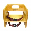 Wood Booster Seat, Natural Color