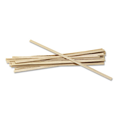 Wood Coffee Stirrers, 5 1/2