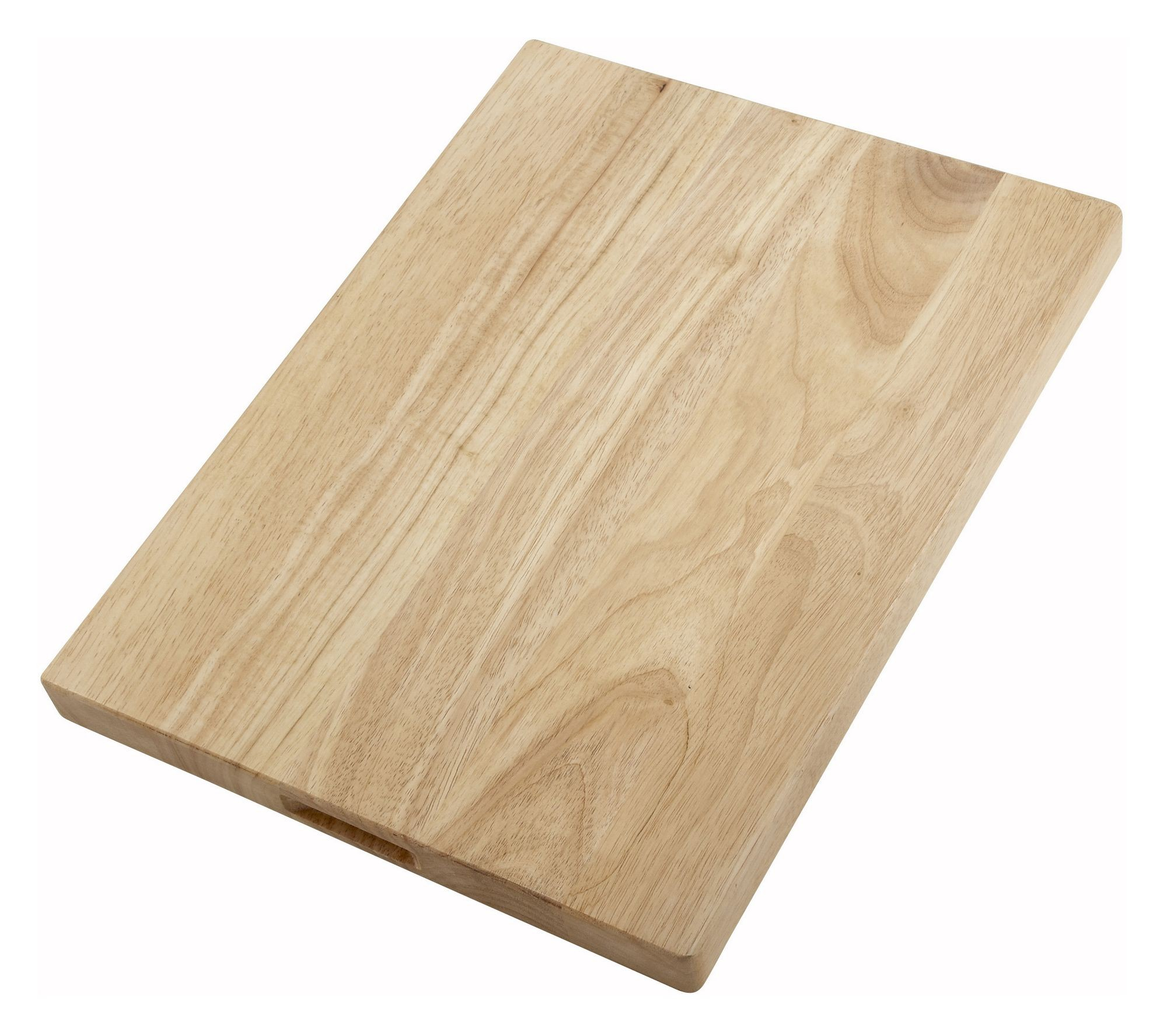 "Winco WCB-1218 Wood Cutting Board 12"" x 18"" x 1-3/4"" Thick"