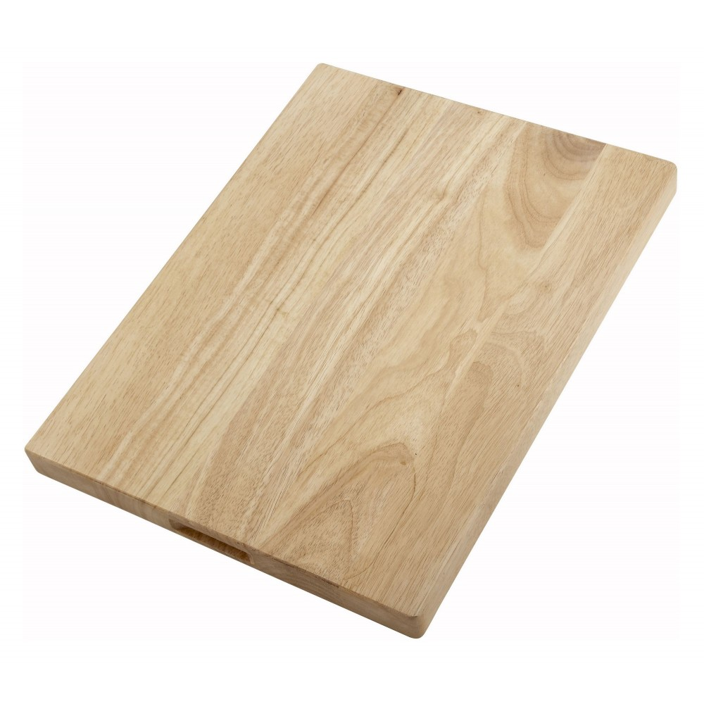 "Winco WCB-1824 Wood Cutting Board 18""x 24"" x 1-3/4"" Thick"