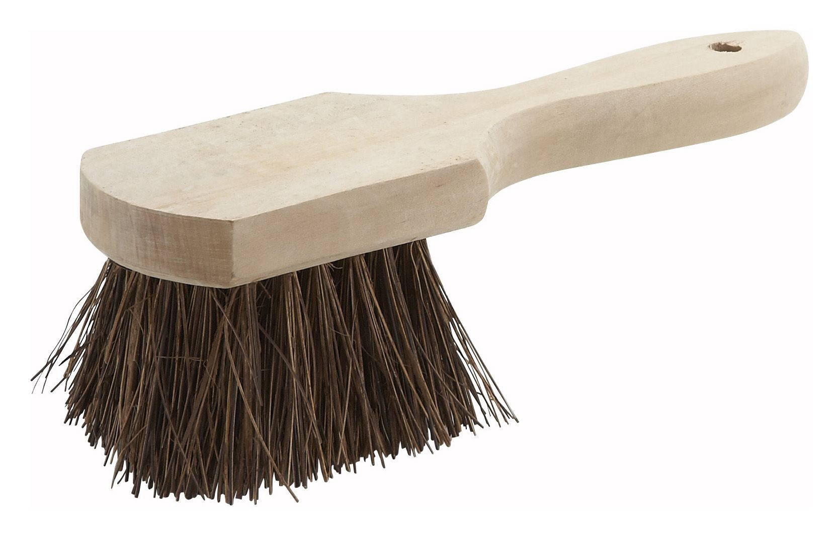 Winco BRP-10 Pot Brush with Wood Handle 10""