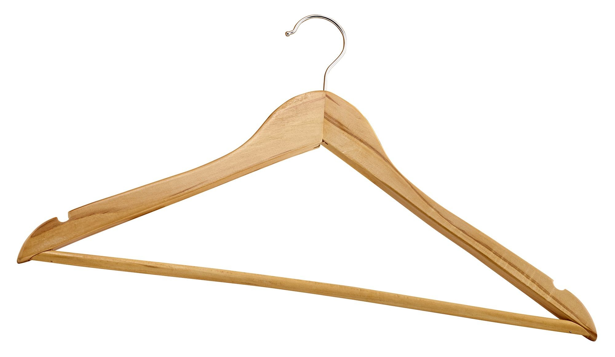 Winco WCH-1 Wooden Clothes Hanger