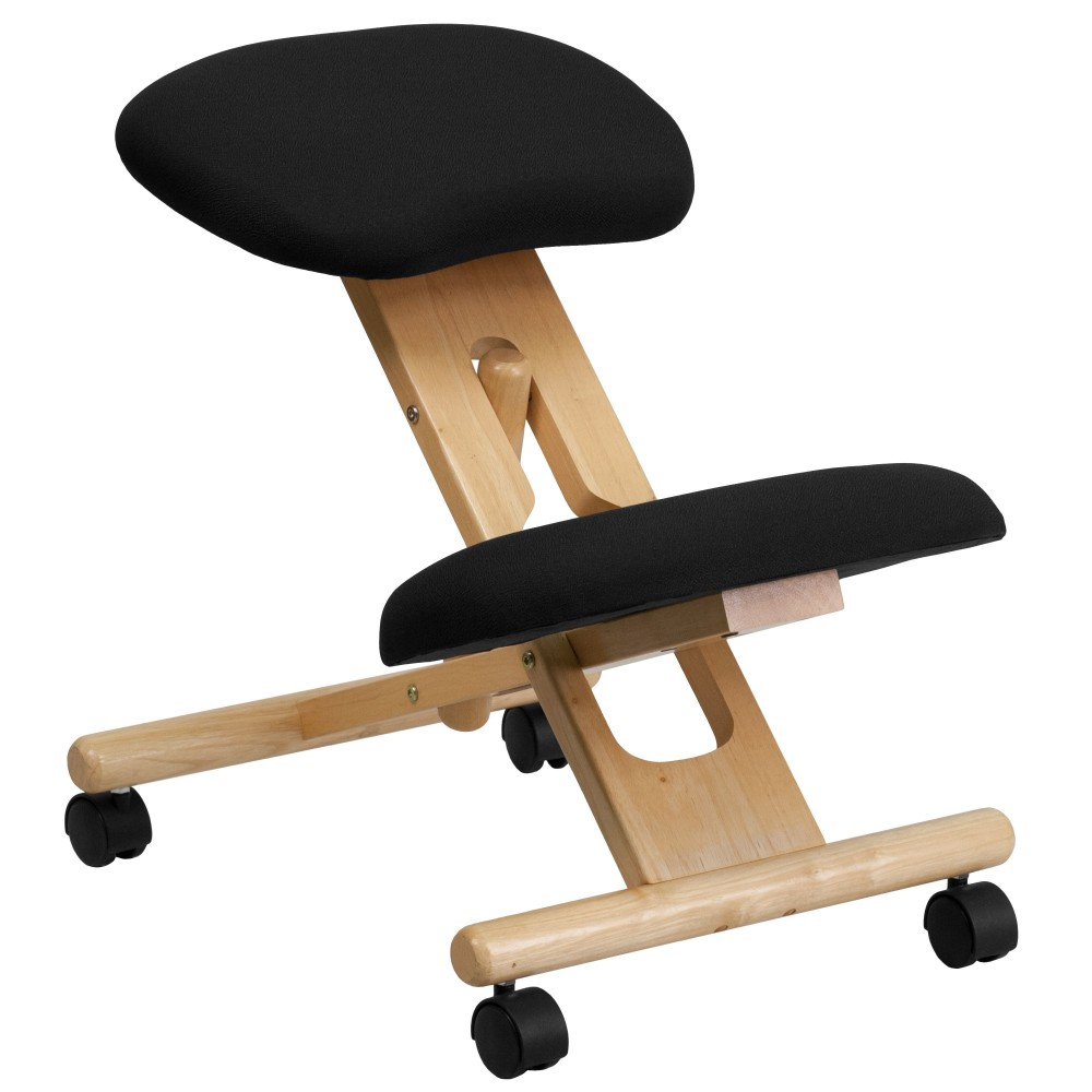 Wooden Ergonomic Kneeling Posture