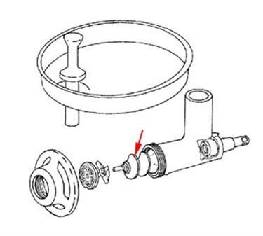 Franklin Machine Products  205-1013 Feed Screw Worm