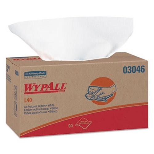 Wypall L40 Towels, POP-UP Box, 9 Boxes/Carton