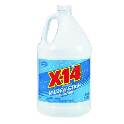 X-14 Mildew Stain Remover, 1gal, Bottle