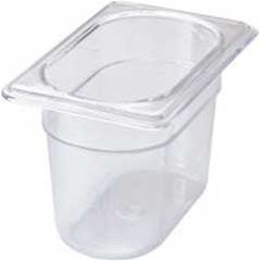 X-Tra Cold Food Pan-1/9 Size 6/Cs