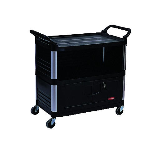 Xtra 3-Shelf Equipment Cart, 37-7/8
