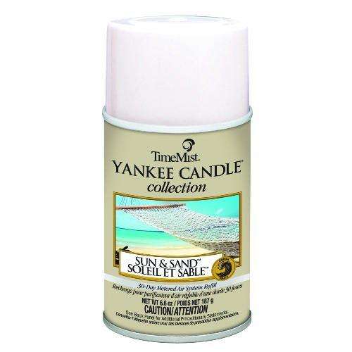 Yankee Candle Air Freshener Refill, Sun and Sand, 6.6 oz Aerosol Can