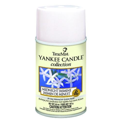Yankee Candle Air Freshener Refills, Midnight Jasmine, 6.6 oz Aerosol Cans