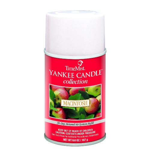 Yankee Candle Metered Air Freshener, 6.6 Oz, Aerosol, Macintosh