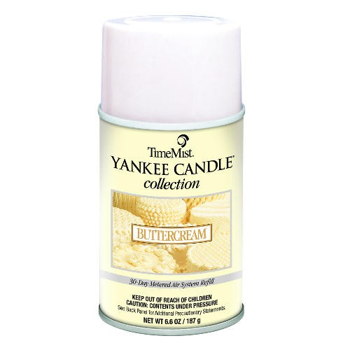 Yankee Candle Metered Air Freshener, 6.6 Oz, Aerosol, Butter Cream