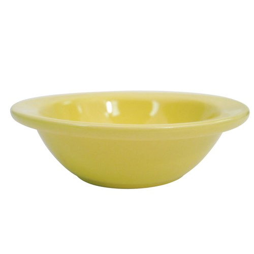 CAC China L-11NR-Y Las Vegas Narrow Rim Fruit Bowl 4 oz.