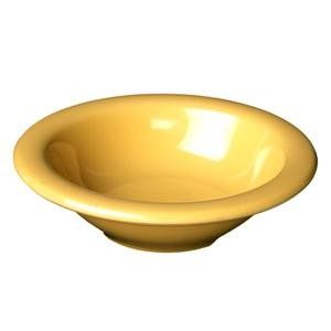 Yellow Melamine 12 Oz. Soup Bowl - 7-1/4