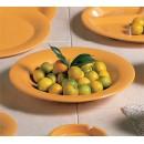 Thunder Group CR5809YW Yellow Melamine 13 oz. Salad Bowl