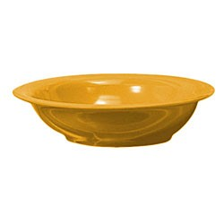 Thunder Group CR5716YW Yellow Melamine 16 oz. Soup Bowl