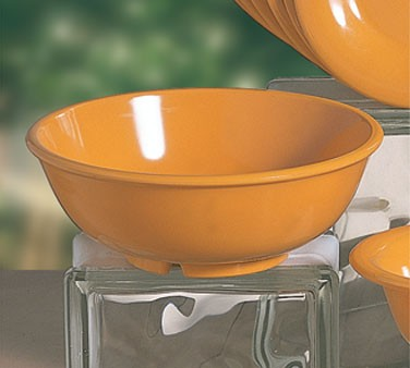 Yellow Melamine 24 Oz. Salad Bowl - 7-1/2
