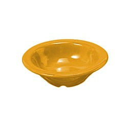 Yellow Melamine 4-1/2 Oz. Salad Bowl - 4-3/4