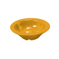 "Thunder Group CR5044YW Yellow Melamine 4 oz. Salad Bowl 4-3/4"""