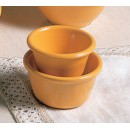 Thunder Group ML538YW Yellow Melamine 4 oz. Smooth Ramekin 3-3/8""