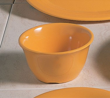 Thunder Group CR303YW Yellow Melamine 7 oz. Bouillon Cup 4""
