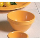 Thunder Group CR313YW Yellow Melamine 8 oz. Bouillon Cup 4-1/4""