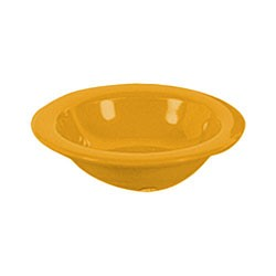 Yellow Melamine 8 Oz. Salad Bowl - 6