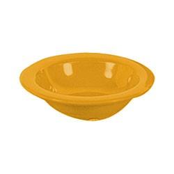 Thunder Group CR5608YW Yellow Melamine 8 oz. Salad Bowl