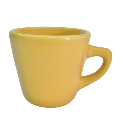 CAC China LV-1-Y Las Vegas Yellow Tall Cup 7.5 oz.