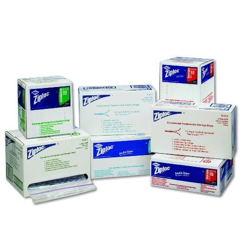 Ziploc Commercial Resealable Freezer Bags 2 Gallon Capacity, 5 1/2w x 13h, 2.7 mil