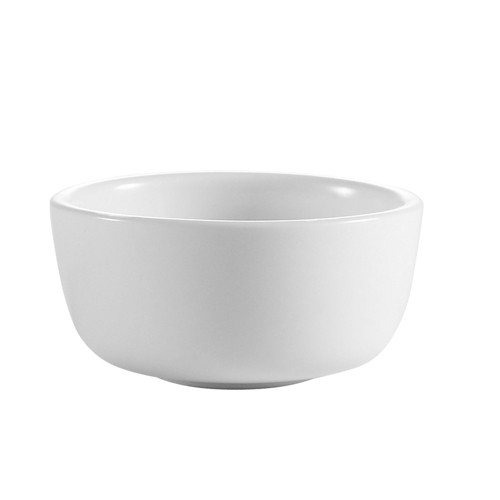 CAC China JB-95-P Clinton Rolled Edge Jung Bowl 9.5 oz.