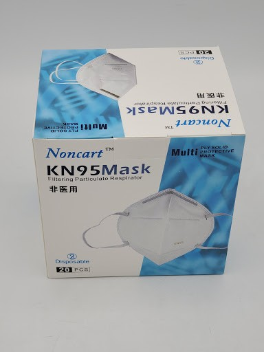 Disposable KN-95 Face Masks, 5/Pack