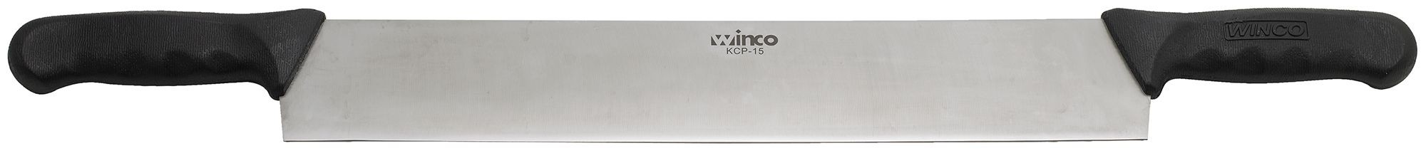 Winco KCP-15 Cheese Knife Double with Polypropylene Handles 15""