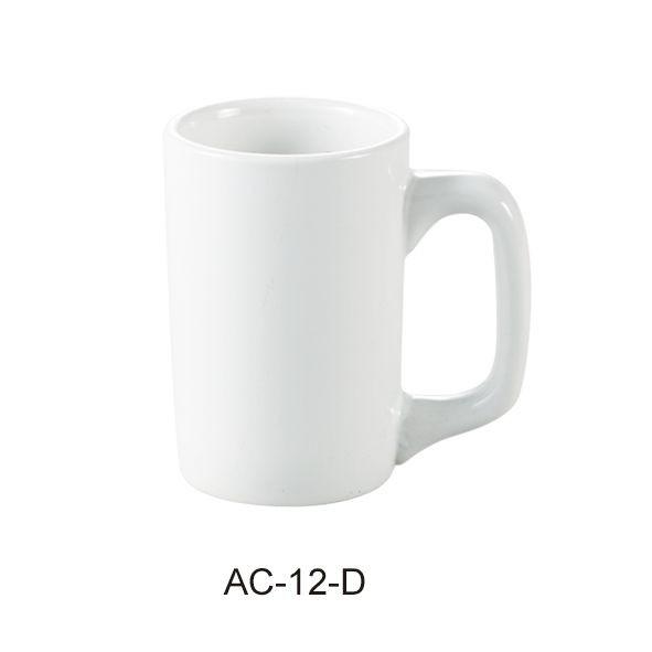 """Yanco AC-12-D Abco 3"""" x 4 1/2"""" Diner Mug 12 oz."""